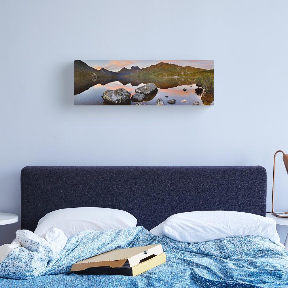 Dove Lake Dawn, Cradle Mountain, Tasmania, Australia Canvas Print