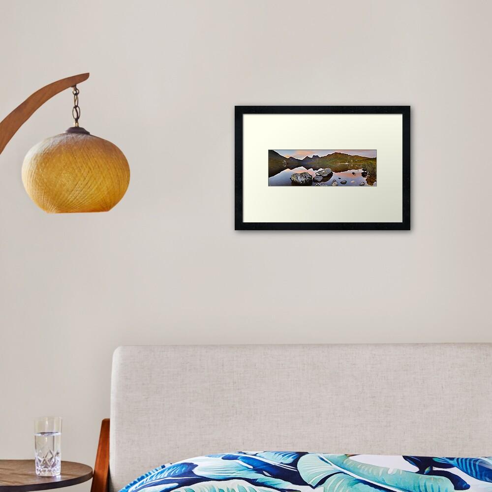 Dove Lake Dawn, Cradle Mountain, Tasmania, Australia Framed Art Print