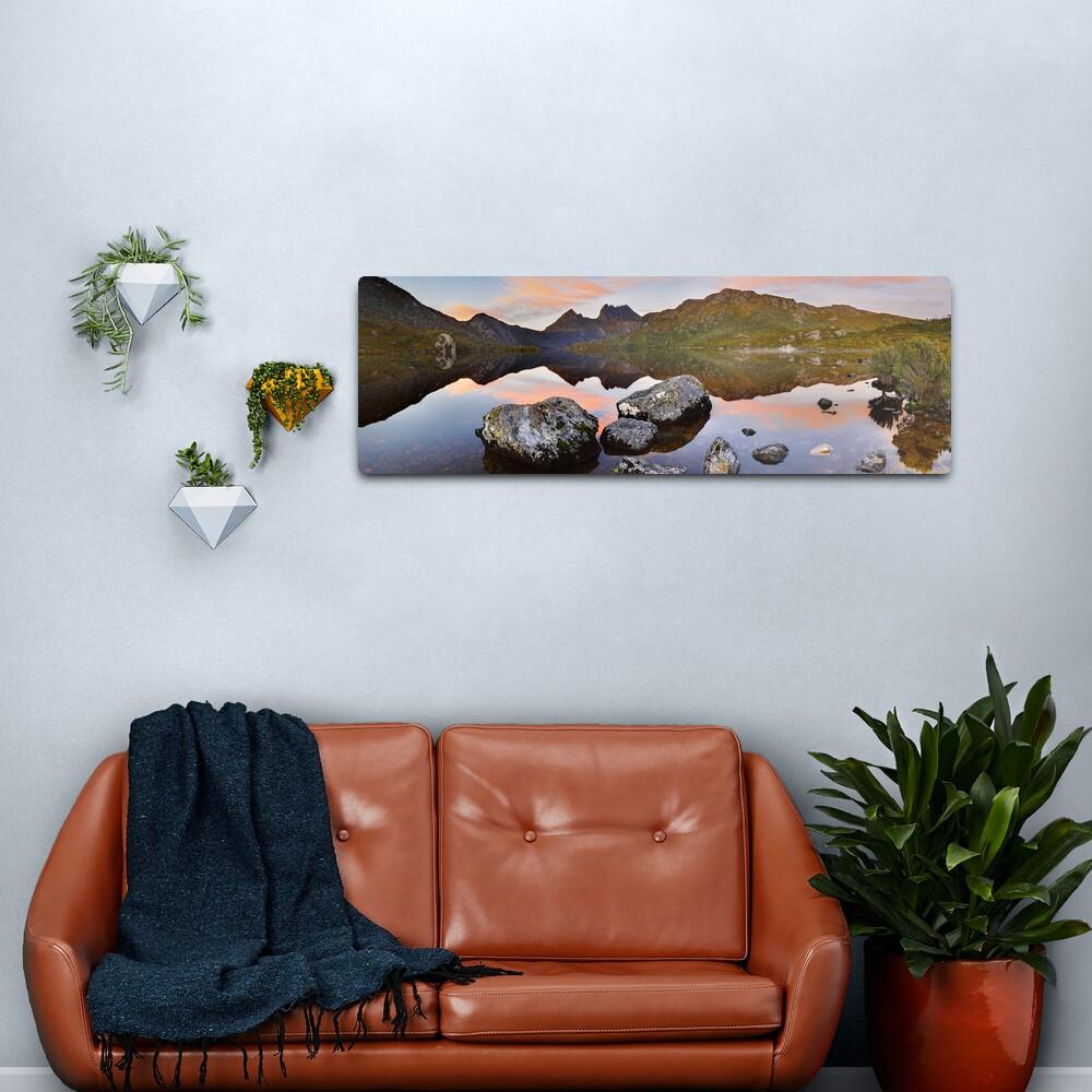 Dove Lake Dawn, Cradle Mountain, Tasmania, Australia Metal Print