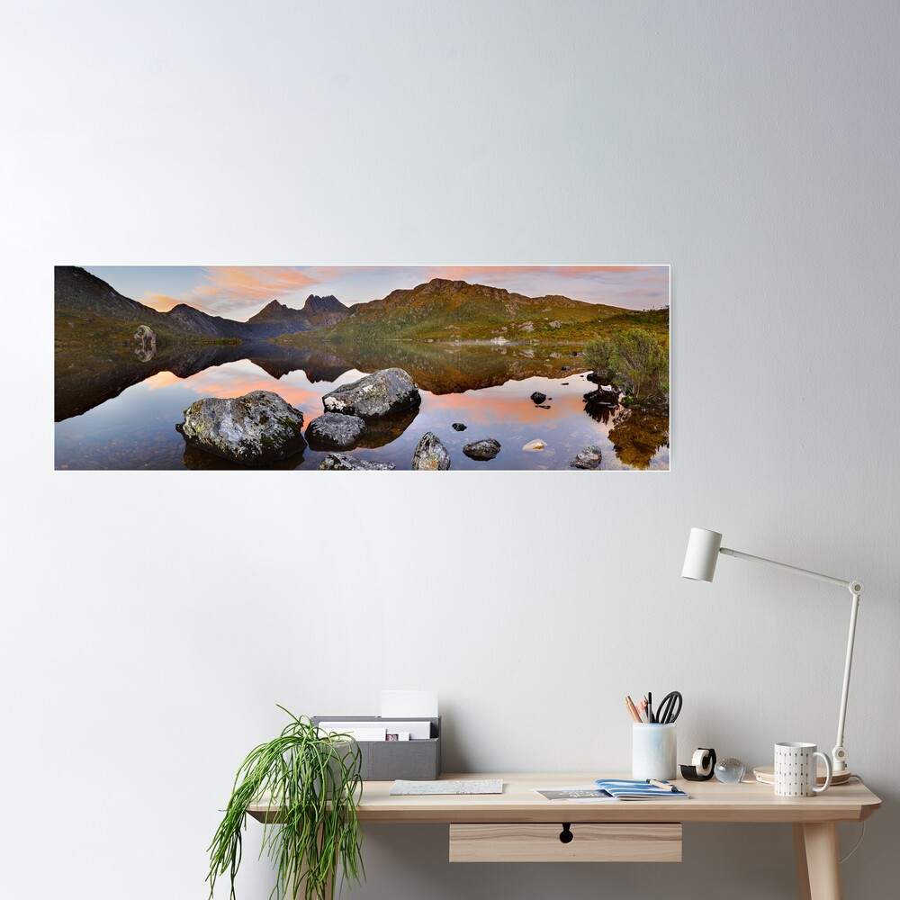Dove Lake Dawn, Cradle Mountain, Tasmania, Australia Poster