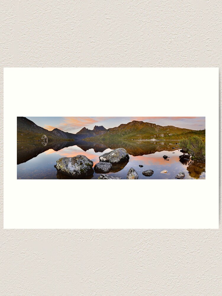 Alternate view of Dove Lake Dawn, Cradle Mountain, Tasmania, Australia Art Print