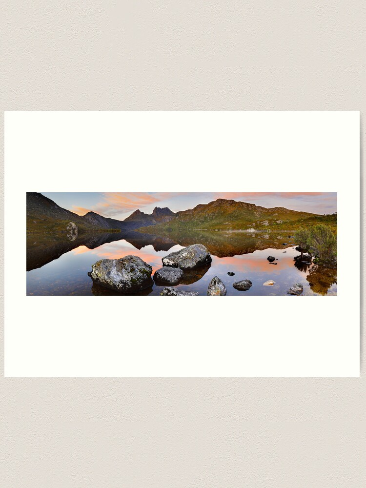 Alternate view of Dove Lake Dawn, Cradle Mountain, Tasmania, Australia Art Print