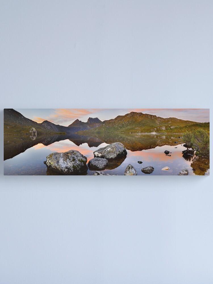 Alternate view of Dove Lake Dawn, Cradle Mountain, Tasmania, Australia Canvas Print