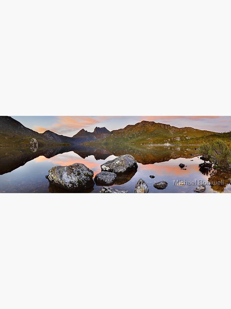 Dove Lake Dawn, Cradle Mountain, Tasmania, Australia by Chockstone