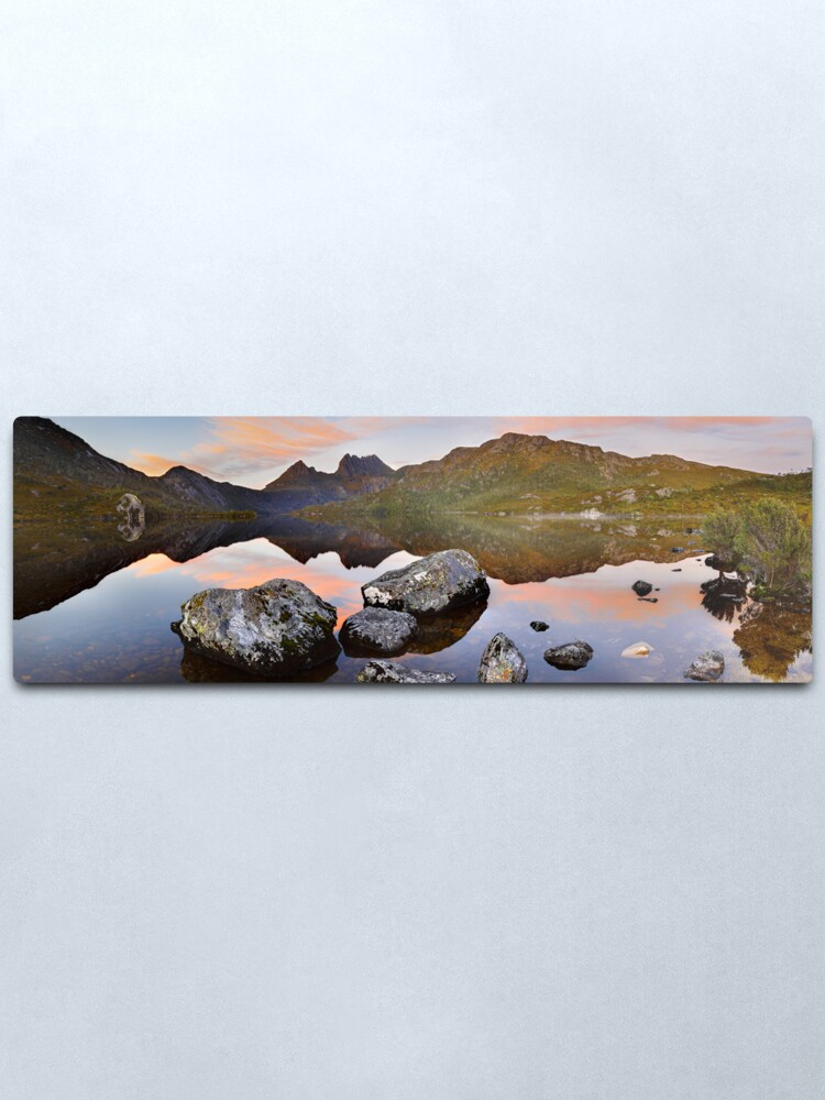 Alternate view of Dove Lake Dawn, Cradle Mountain, Tasmania, Australia Metal Print