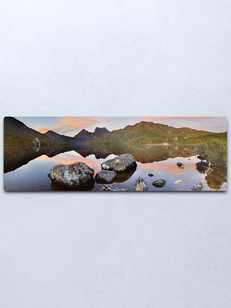 Alternate view of Dove Lake Dawn, Cradle Mountain, Tasmania, Australia Metal Print