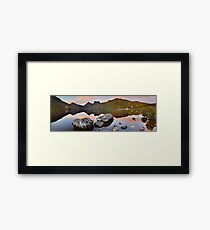 Dove Lake Dawn, Cradle Mountain, Tasmania, Australia Framed Print