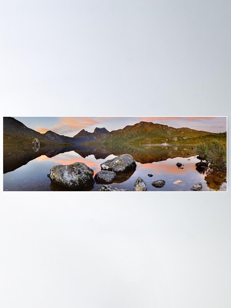 Alternate view of Dove Lake Dawn, Cradle Mountain, Tasmania, Australia Poster