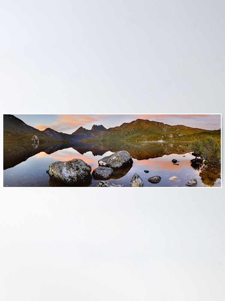 Alternate view of Dove Lake Dawn, Cradle Mountain, Tasmania, Australia Poster