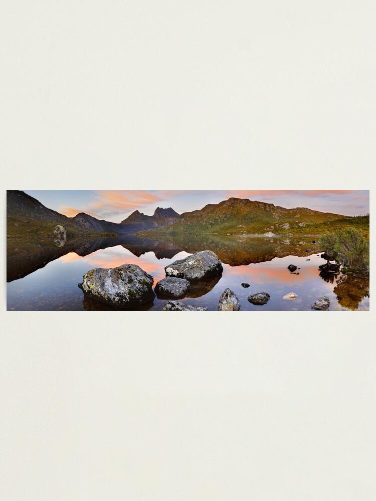 Alternate view of Dove Lake Dawn, Cradle Mountain, Tasmania, Australia Photographic Print
