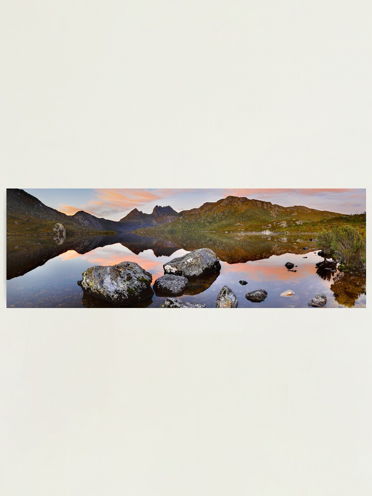 Alternate view of Dove Lake Dawn, Cradle Mountain, Tasmania, Australia Photographic Print