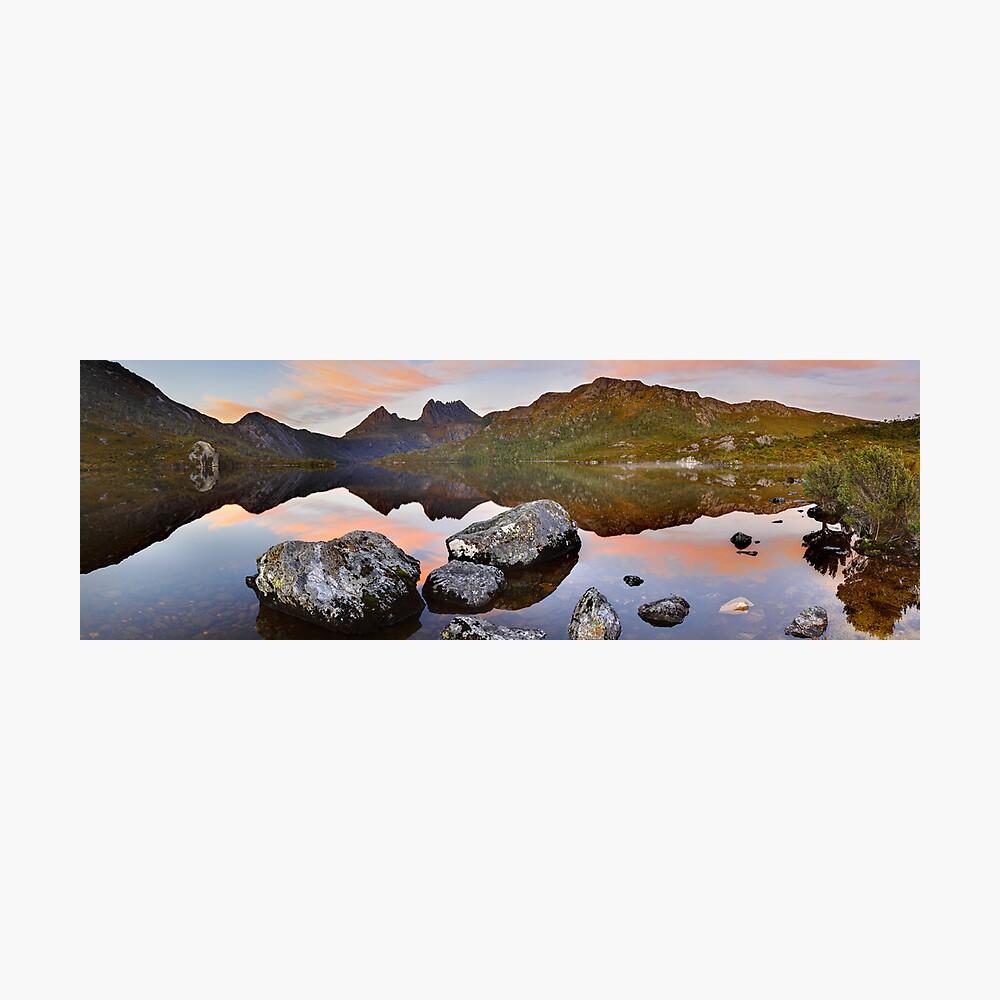Dove Lake Dawn, Cradle Mountain, Tasmania, Australia Photographic Print