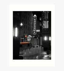 The Tennessee Theater-Knoxville, TN Art Print
