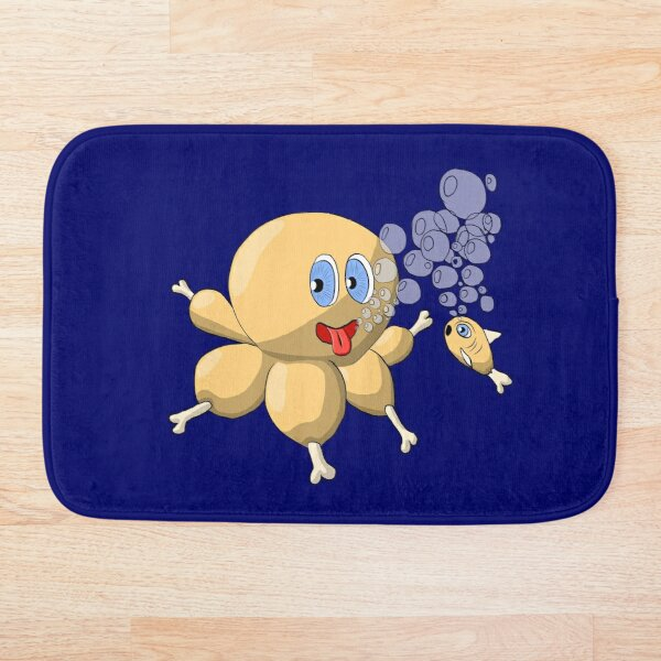 OctoChicken Bath Mat