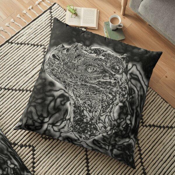 Spectral Darkness 3 Floor Pillow