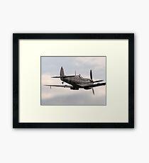 RAF WW2 Spitfire Formation Framed Print