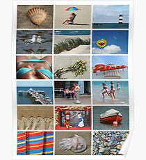 I do like to be beside the Seaside Poster