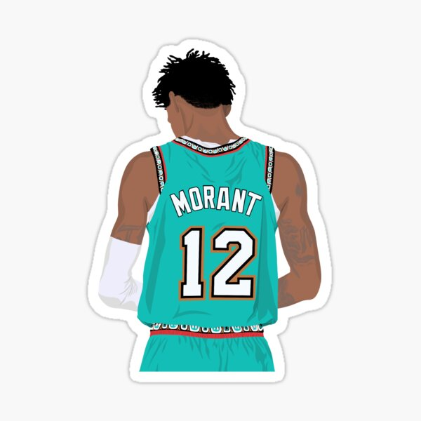 Ja Morant 12 Sticker