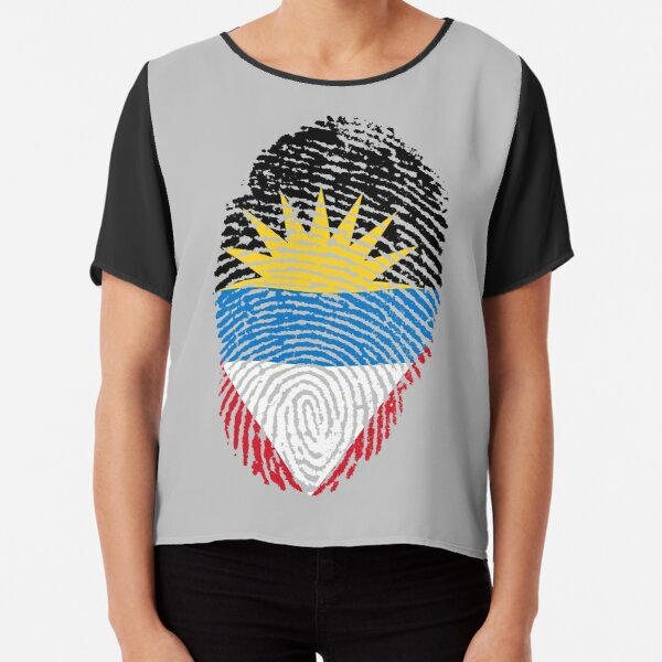 I am from Antigua and Barbuda Chiffon Top