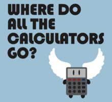 Where do all the calculators go? (Red Dwarf)