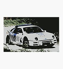 Ford RS200 Rally Photographic Print