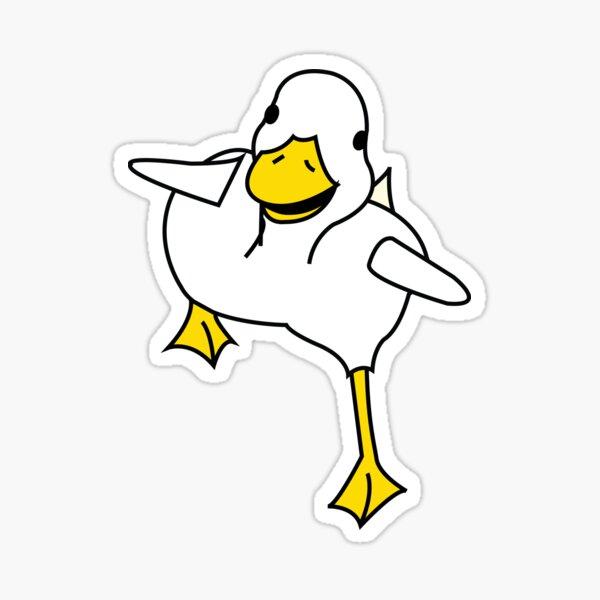 Duck on the Run Sticker