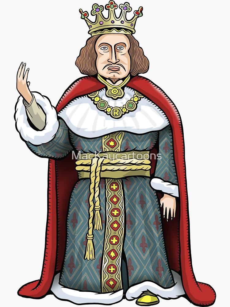 King Richard II by MacKaycartoons