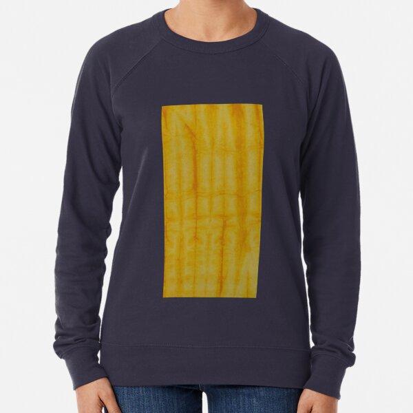 SKU 333 - Shibori Style Yellow 1 Lightweight Sweatshirt