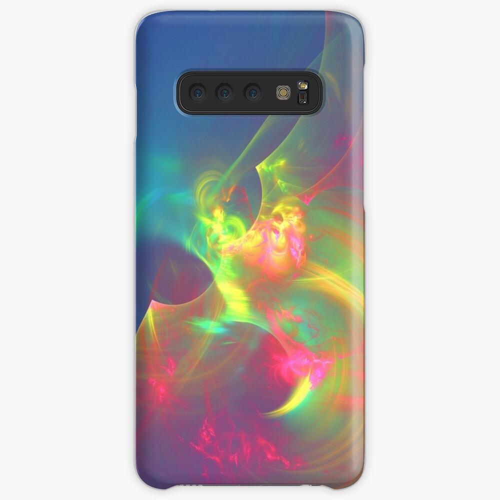 Sea wave ghost fractal Case & Skin for Samsung Galaxy