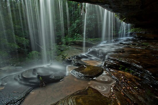Behind The Silken Curtain by John Morton