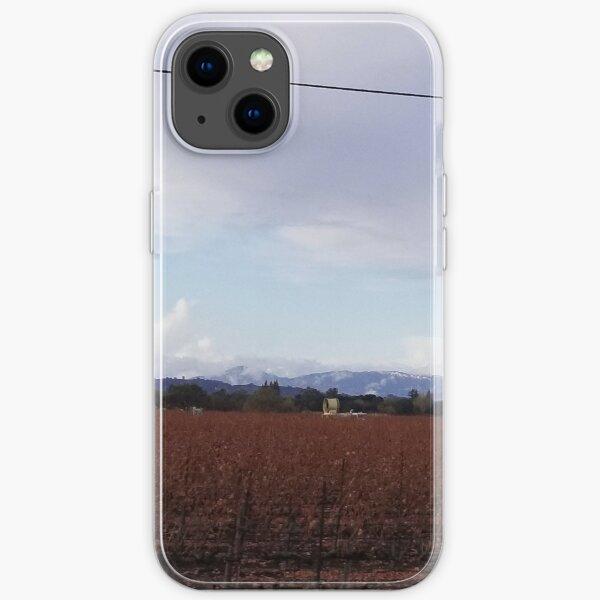 The Vineyards in Fall iPhone Soft Case