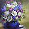 *Brush or pencil Strokes - AVATAR - Gorgeous Flower cards*