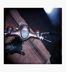 motocontrols, phnom penh, cambodia Photographic Print