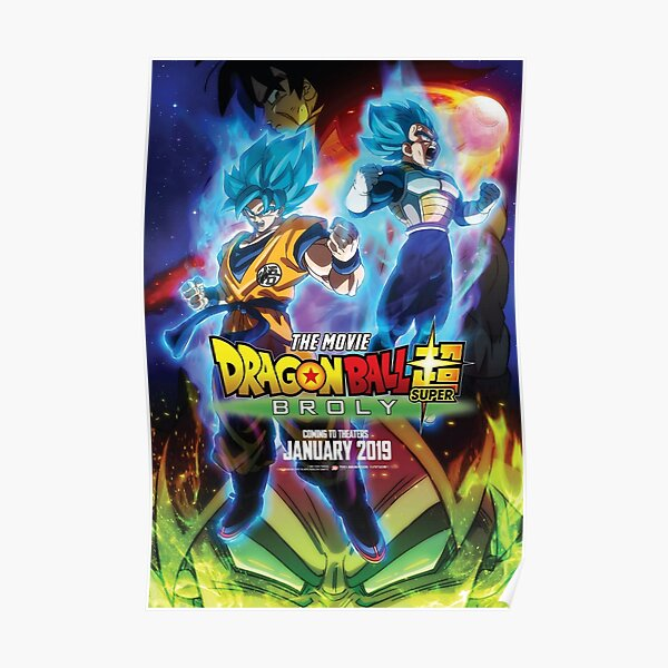 DBS Broly Movie Póster