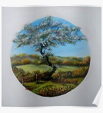 The Fairy Tree - oil paintng Poster