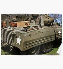 M8 Armored Car Poster