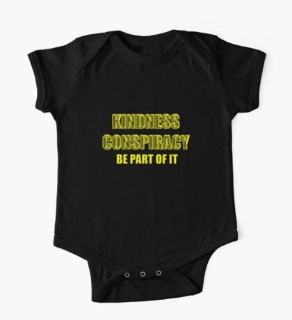 kindness conspiracy Kids Clothes