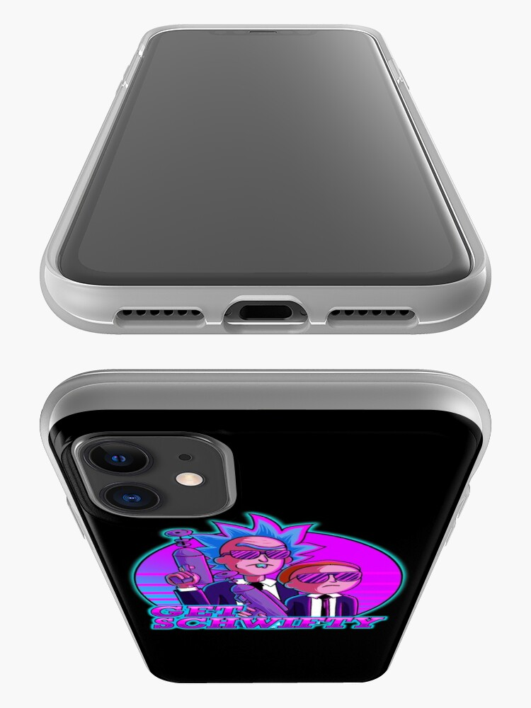 Alternate view of rick and morty get schwifty iPhone Case & Cover
