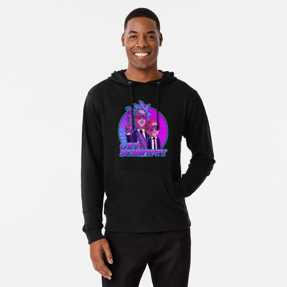 rick and morty get schwifty Lightweight Hoodie