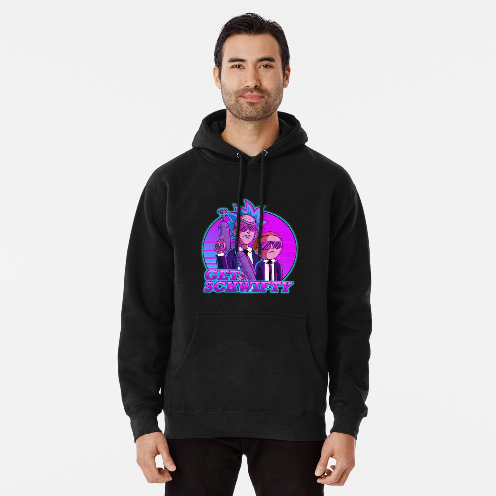 rick and morty get schwifty Pullover Hoodie