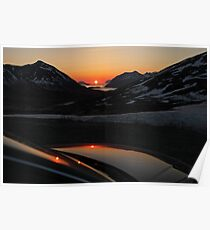 Sunrise at Tromvik Poster
