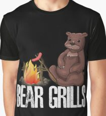 Bear Grills Kids Unisex Hoodie BBQ scout Barbecue