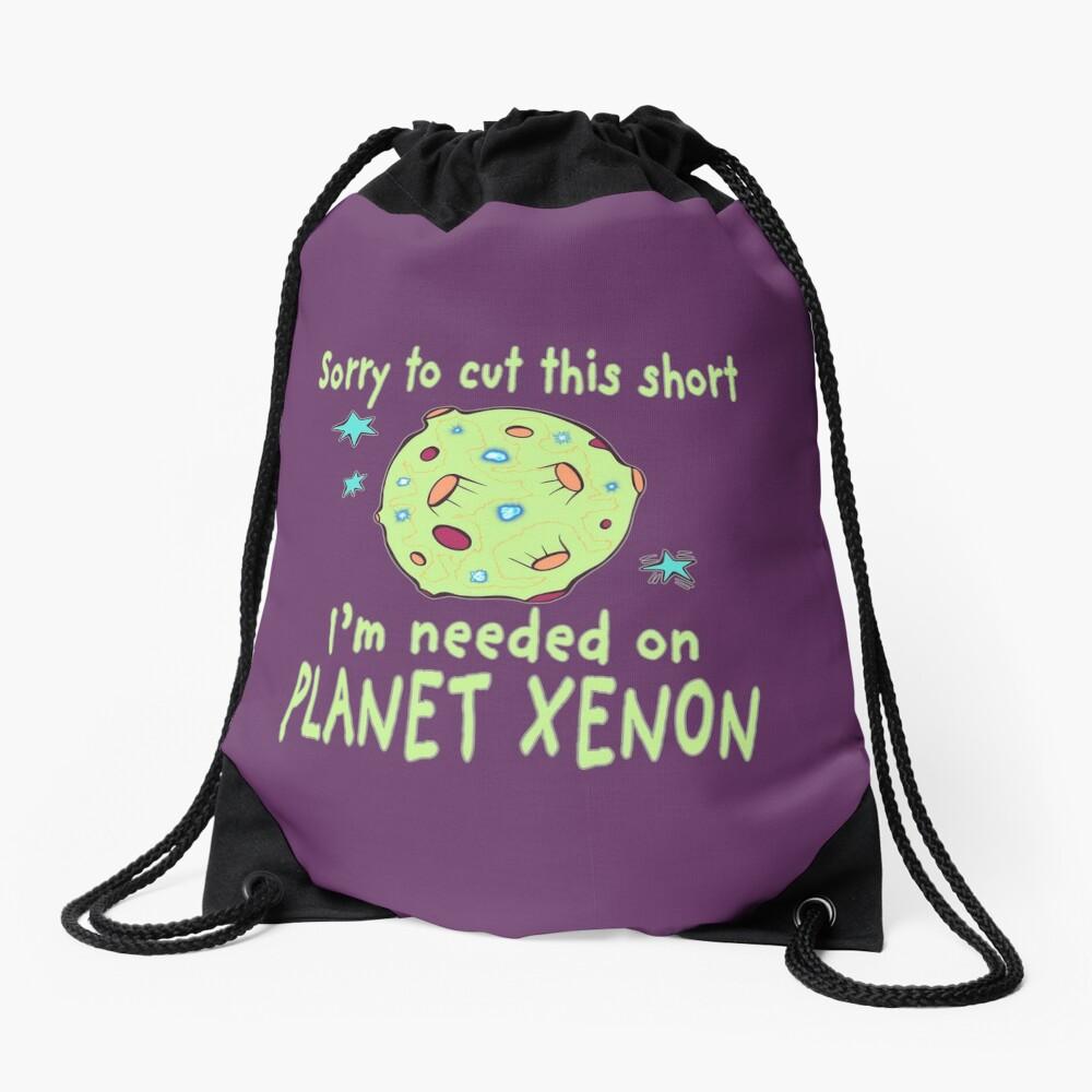 Planet Xenon. Drawstring Bag