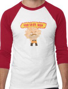 The powerful 50ft man Men's Baseball ¾ T-Shirt