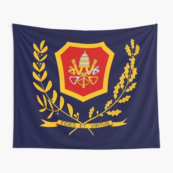 Vatican City Gendarmerie Corps - Corpo della Gendarmeria dello Stato della Città del Vaticano Tapestry
