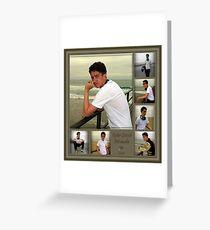 Sample Graduation Portrait Collage Greeting Card