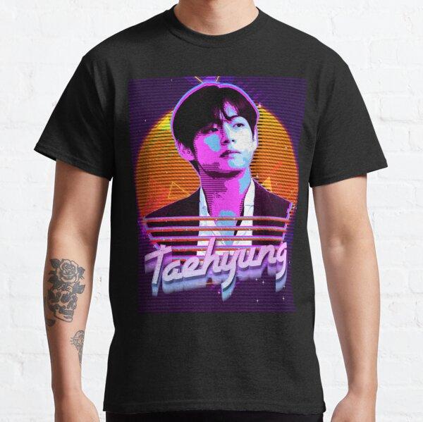 Taehyung rétro T-shirt classique