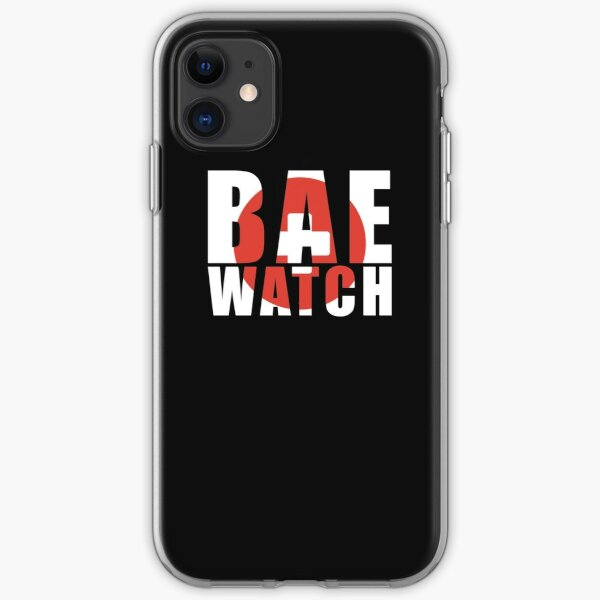 Bae Watch Baewatch Beach Vacation Cruise  iPhone Soft Case