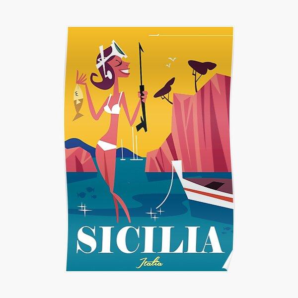 Sicilia poster Poster