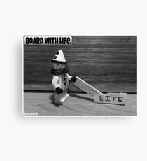 board with life Canvas Print
